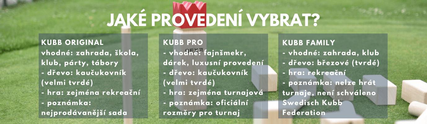 Jak vybrat hru Kubb?